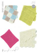 Aran/Chunky/Super Chunky Crochet Patterns
